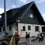 地震に耐えたツーバイフォー住宅