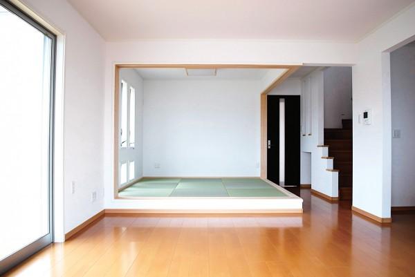 ツーバイフォー住宅の和室