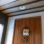 リゾート感あふれる玄関ドア